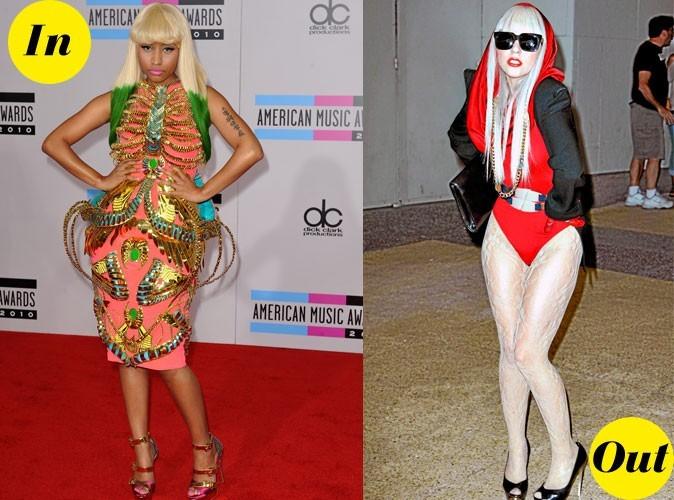 Photos : Lady Gaga vs Nicki Minaj : qui est la plus tendance ?