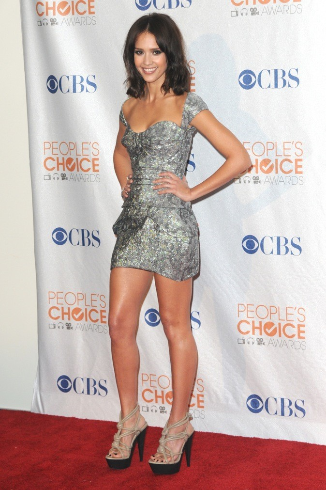 Jessica Alba lors des People's Choice Awards en 2010 à Los Angeles