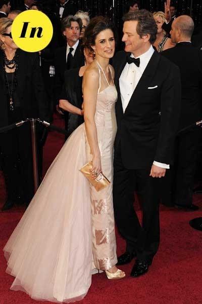 Look de stars aux Oscars 2011 : Colin Firth en couple avec Livia Giuggioli