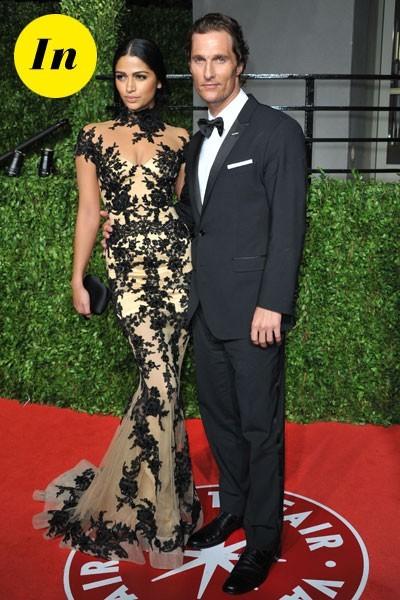 Look de stars aux Oscars 2011 : Matthew McConaughey en couple avec Camila Alves