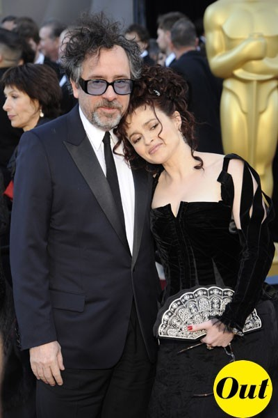 Look de stars aux Oscars 2011 : Tim Burton en couple avec Helena Bonham Carter
