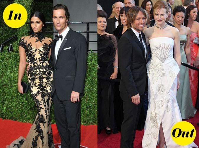 Photos : Oscars 2011 : les looks In&Out des couples de stars