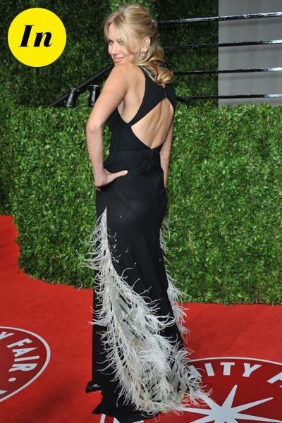 Oscars 2011 : la robe à plumes de Naomi Watts