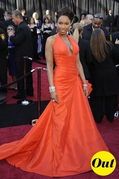 Oscars 2011 : la robe Atelier Versace de Jennifer Hudson