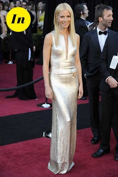 Oscars 2011 : la robe Calvin Klein de Gwyneth Paltrow