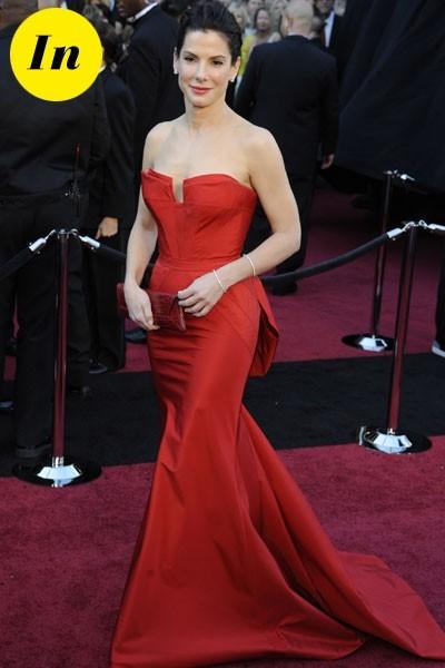 Oscars 2011 : la robe Vera Wang de Sandra Bullock