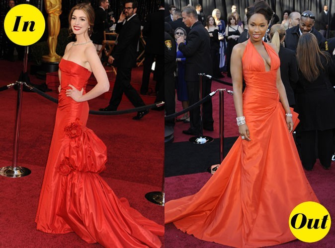 Photos : Oscars 2011 : les robes In&Out des stars