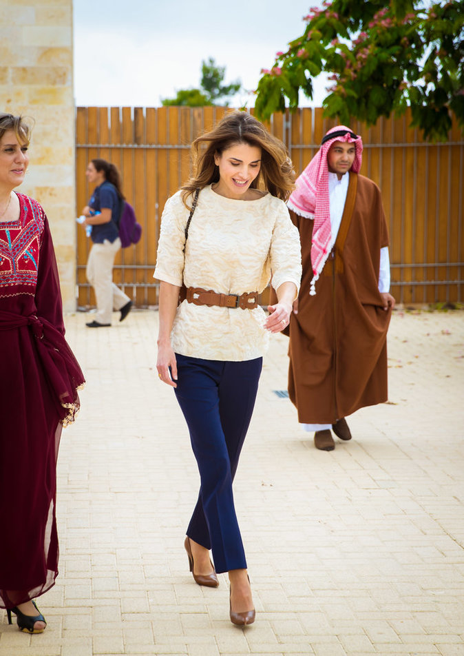 photos   rania de jordanie   de son pays natal  u00e0 la