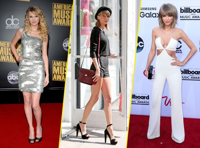 Photos : Taylor Swift : découvrez son CV fashion : de jeune fille sage à femme fatale !