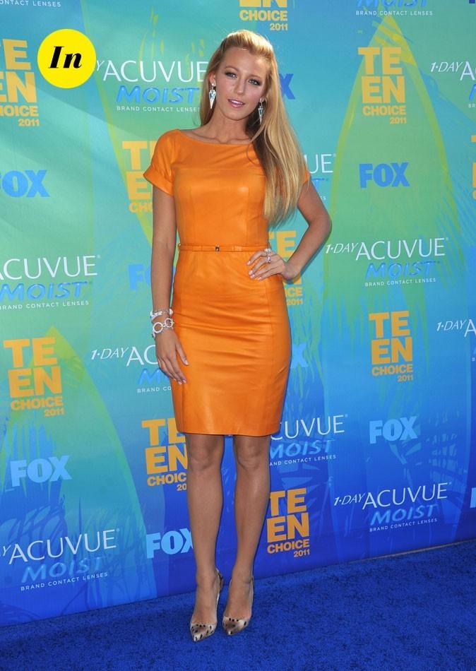 Le look de Blake Lively aux Teen Choice Awards 2011 !
