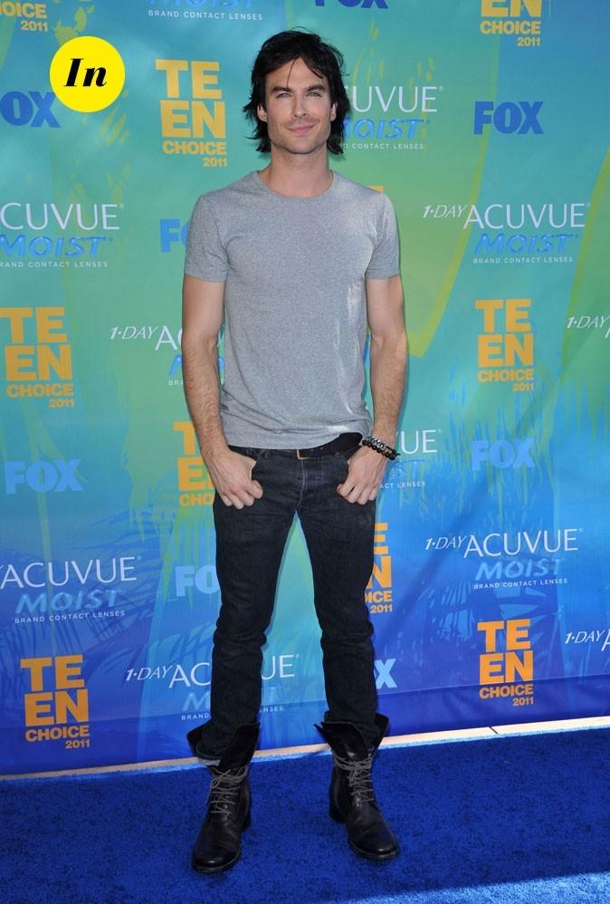 Le look de Ian Somerhalder aux Teen Choice Awards 2011 !