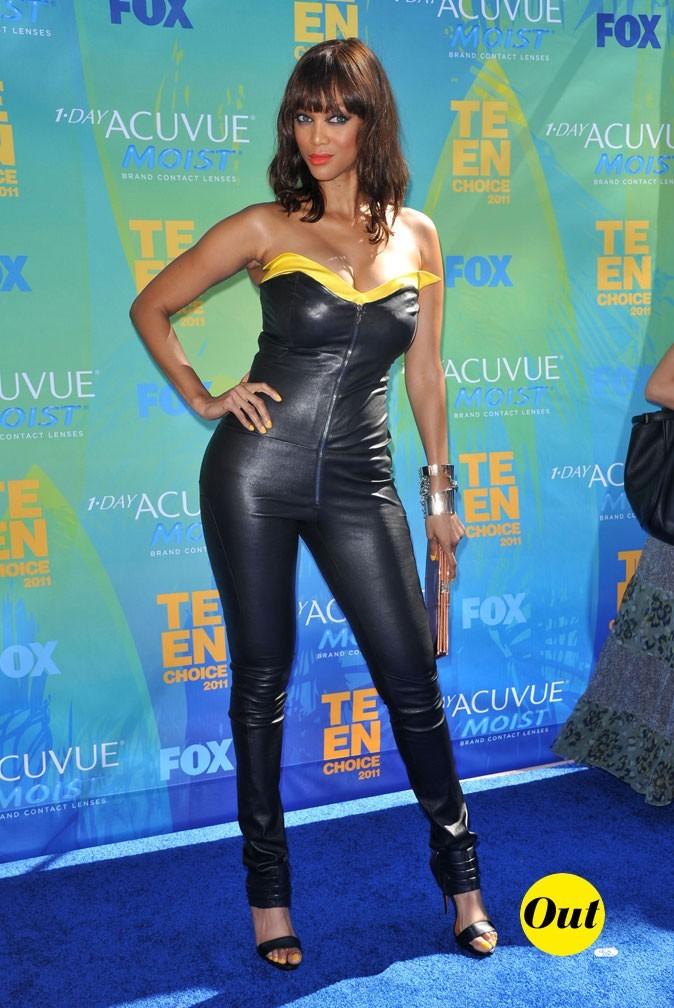 Le look de Tyra Banks aux Teen Choice Awards 2011 !