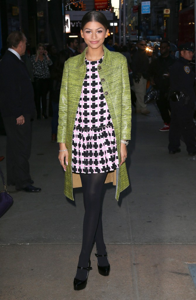 Zendaya : tenue sexy et glamour