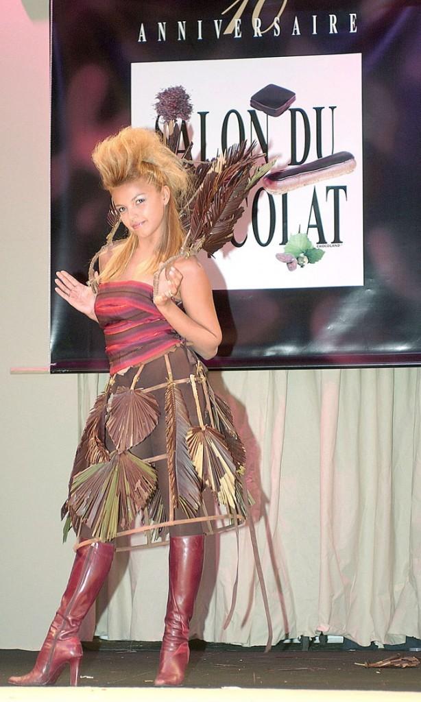 Salon du chocolat 2004 : Severine Ferrer