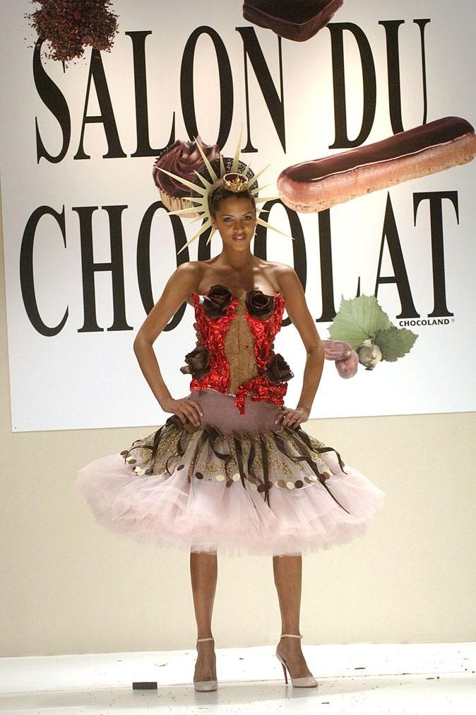 Salon du chocolat 2005 : Noémie Lenoir