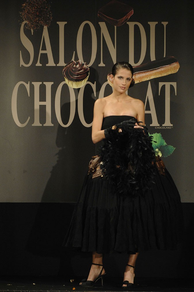 Salon du chocolat 2007 : Clémence Castel
