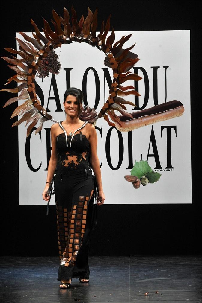 Salon du chocolat 2008 : Karine Ferri