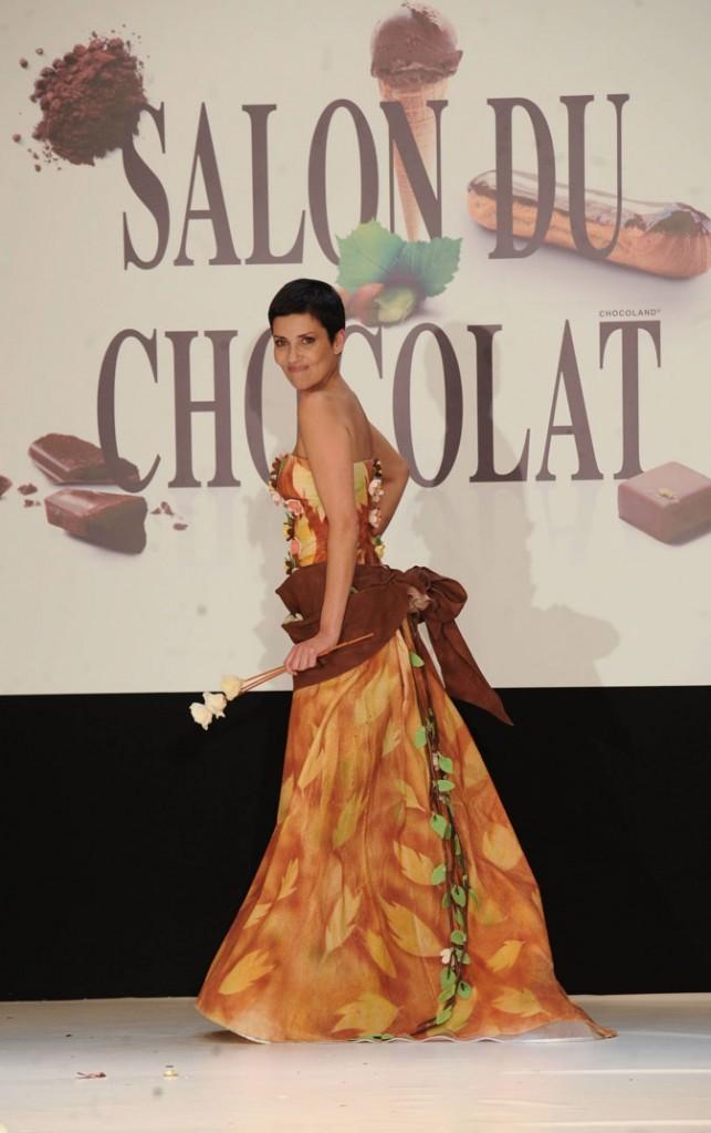 Salon du chocolat 2010 : Cristina Cordula