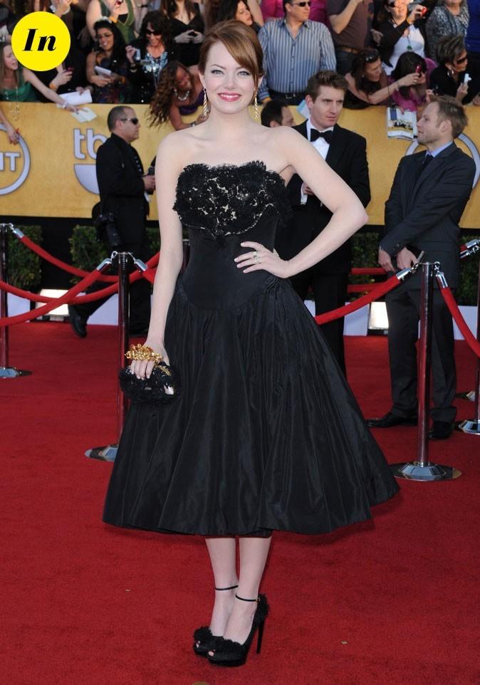 Emma Stone en Alexander MacQueen