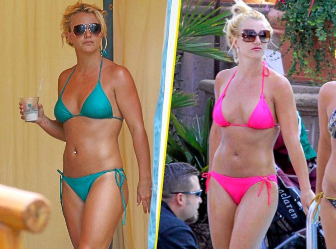 Stars à la plage : Britney Spears porte toujours le même maillot de bain flashy