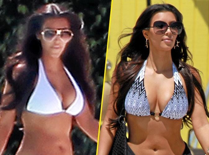 Stars à la plage : Kim Kardashian porte toujours le même maillot de bain triange