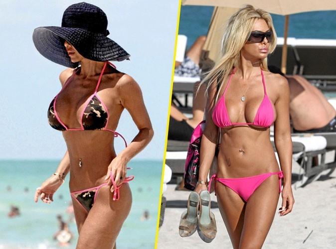 Stars à la plage : Shauna Sand porte toujours le même maillot de bain étriqué