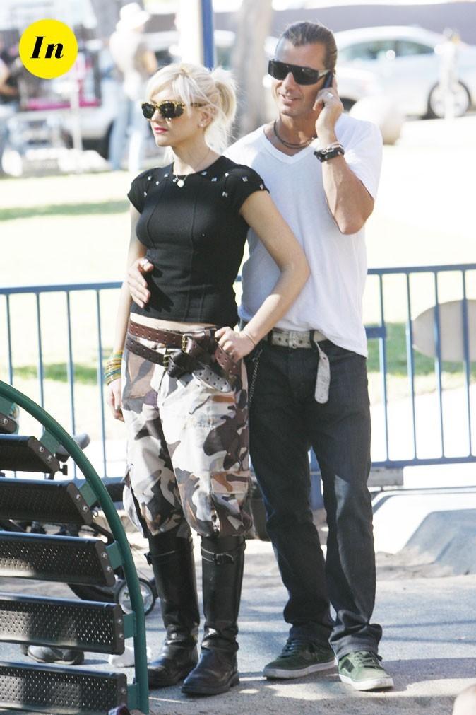 Tendance masculin/féminin : le look de Gwen Stefani