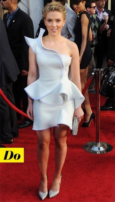 Scarlett Johansson en Armani Privé