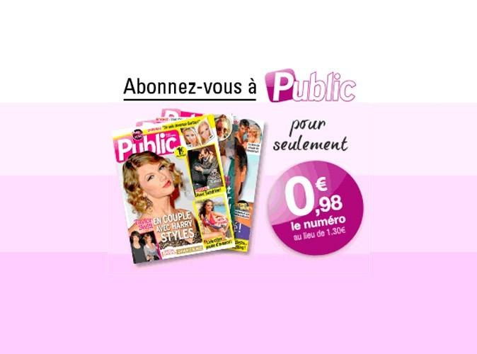 Abonnement découverte : 0,98€ le numéro du magazine Public au lieu de 1,30€ !