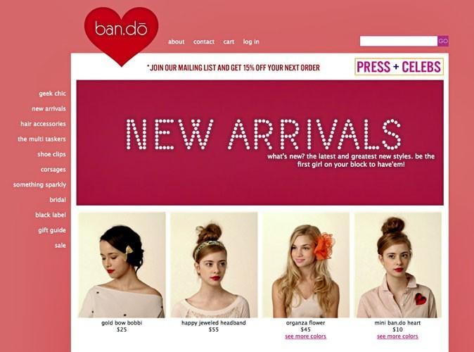 Bando : des accessoires cheveux originaux !