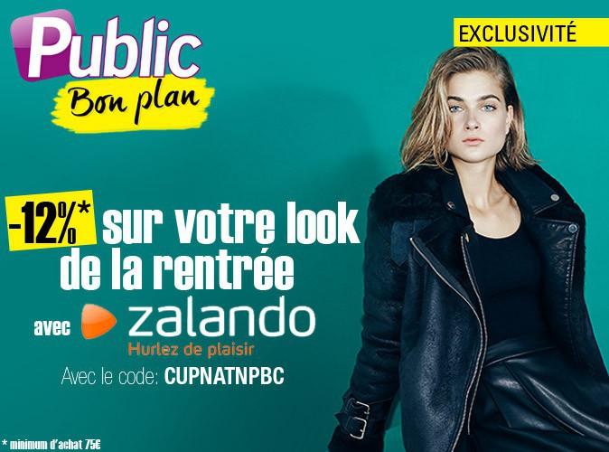 Bon plan : -12% sur le site Zalando grâce au code promo CUPNATNPBC !
