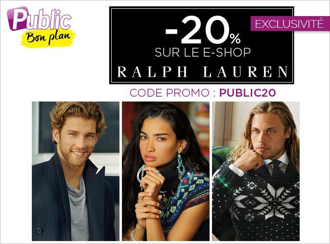 Bon plan : -20% sur le e-shop de Ralph Lauren !