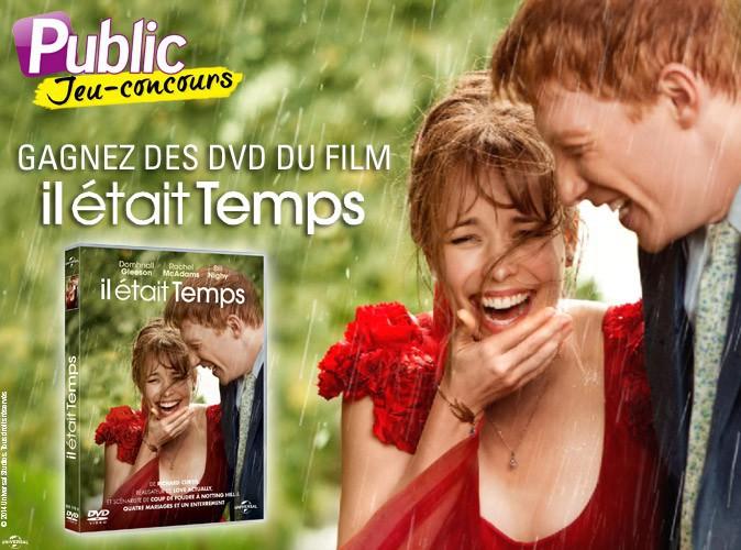 """Bon plan : 50 DVD du film """"Il était temps"""" à gagner !"""
