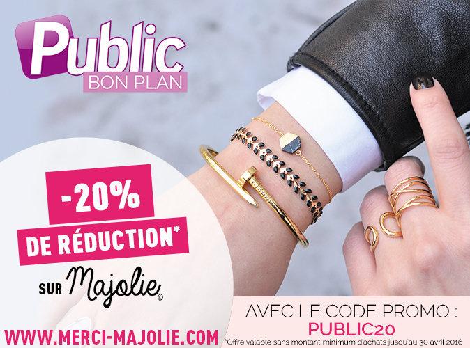 Bon Plan : bénéficiez de -20 % sur tous les bijoux Majolie !