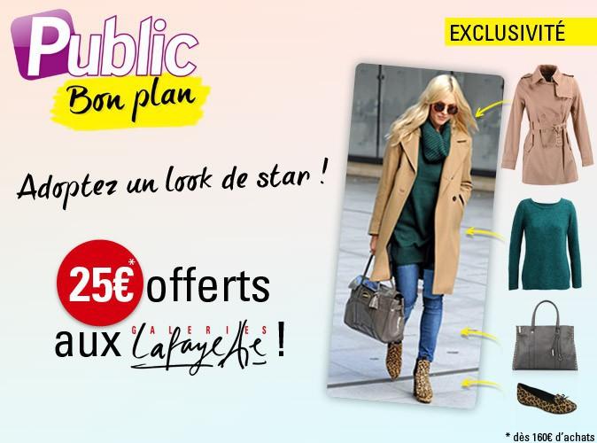 Bon plan : Code promo : 25€ de réduction sur les Galeries Lafayette !