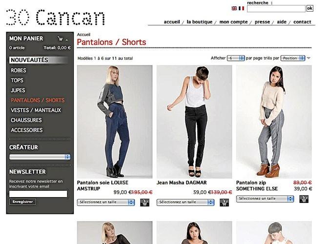 Bon plan mode : 30 Cancan, un e-shop de marques originales !