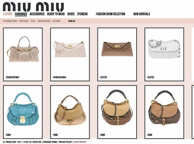 Bon plan mode : la boutique en ligne Miu Miu ouvre ses portes !