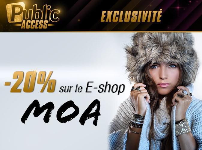 Bon plan : on vous offre -20% sur le e-shop de MOA !