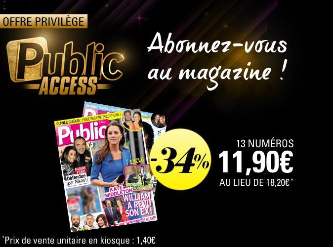 Bon plan spécial Public Access : 13 numéros de Public pour 11,90 euros !