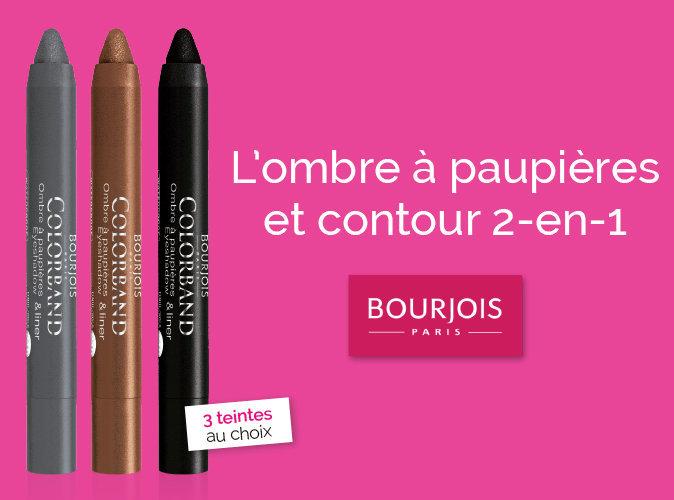 Bon Plan : votre ombre à paupières et contour 2 en 1 Bourjois à 2,95 euros seulement !