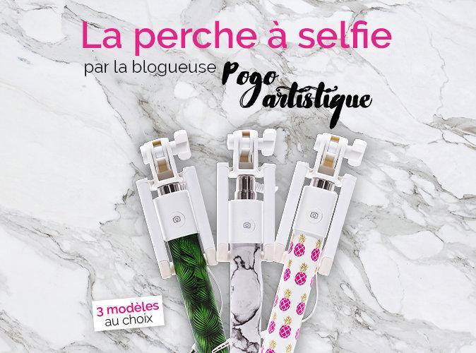 Bon Plan : votre perche à selfie Pogo Artistique à 5,95 euros !