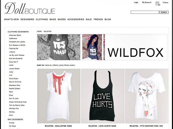 Doll Boutique : l'e-shop les derniers designers tendances !