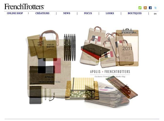 FrenchTrotters : un site de shopping pointu !