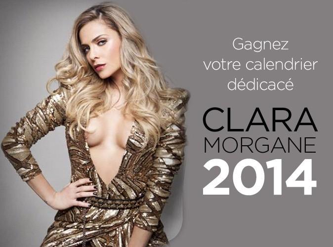 Tentez de gagner l'un des 15 calendriers dédicacés de Clara Morgane avec Public !