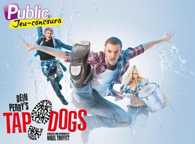 Grand jeu-concours : gagnez 50x2 places pour aller voir les Tap Dogs aux Folies Bergère !