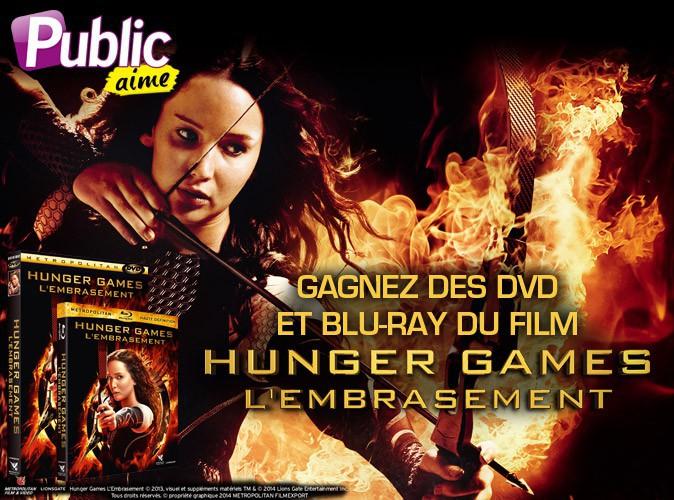 """Grand jeu-concours : jouez et gagnez des DVD et blu-ray du film """"Hunger Games : L'Embrasement"""" !"""