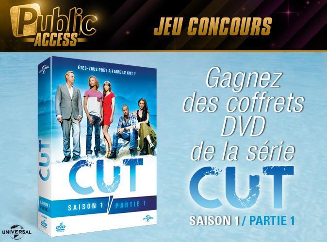 Jeu concours : gagnez le coffret de la saison 1 de la série CUT !