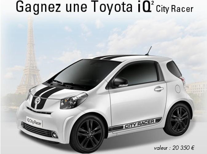 Jeu-concours : gagnez une Toyota IQ² City Racer !