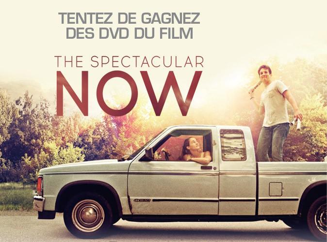 """Jeu concours : gagnez vos DVD  """"The Spectacular Now"""" grâce à Public !"""