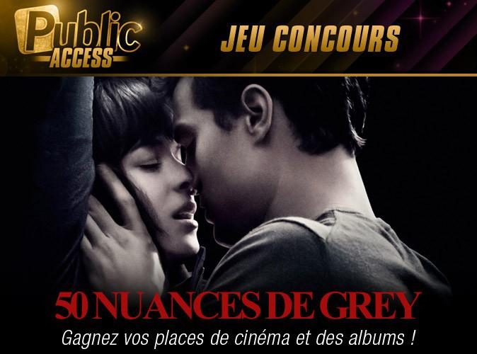 Jeu concours : gagnez vos places de cinéma pour Fifty Shades of Grey ainsi que l'album du film !